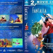 Fantasia Double Feature (1940-1999) R1 Custom Blu-Ray Cover V2