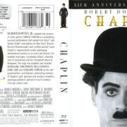 Chaplin (1992) R1 Blu-Ray Cover & Label