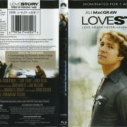Love Story (1970) R1 Blu-Ray Cover & Label