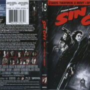 Sin City (2009) R1 Blu-Ray Cover & Labels