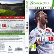 Fifa18 (2017) XBOX 360 Italian Cover