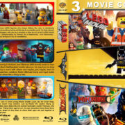The Lego Movie Triple Feature (2014-2017) R1 Custom Blu-Ray Cover