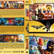 The Lego Movie Triple Feature (2014-2017) R1 Custom Cover