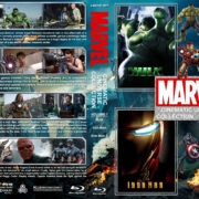 The Marvel Cinematic Universe Collection - Volume 1 (2003-2011) R1 Custom Blu-Ray Cover