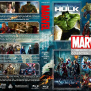 The Marvel Cinematic Universe Collection – Volume 2 (2008-2013) R1 Custom Blu-Ray Cover
