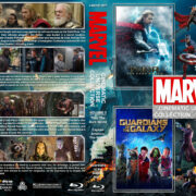 The Marvel Cinematic Universe Collection – Volume 3 (2013-2017) R1 Custom Blu-Ray Cover