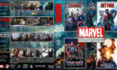The Marvel Cinematic Universe Collection - Volume 4 (2015-2016) R1 Custom Blu-Ray Cover