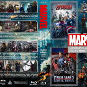 The Marvel Cinematic Universe Collection – Volume 4 (2015-2016) R1 Custom Blu-Ray Cover