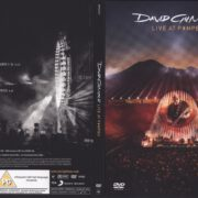 David Gilmour Live at Pompeii (2017) R2 UK DVD Cover & Labels