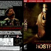 Hostel (2005) R2 German DVD Cover & Label