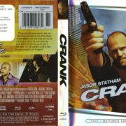 Crank (2006) R1 Blu-Ray Cover & Label