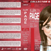Ellen Page Film Collection – Set 4 (2010-2015) R1 Custom Covers