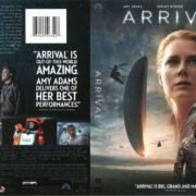Arrival (2016) R1 DVD Cover