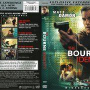 Bourne Identity (2004) R1 DVD Cover