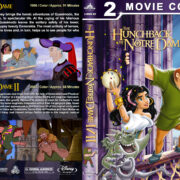 The Hunchback of Notre Dame Double Feature (1996-2002) R1 Custom Blu-Ray Cover