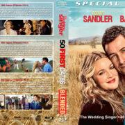 Adam Sandler / Drew Barrymore Triple Feature (1998-2014) R1 Custom Blu-Ray Cover