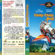 Chitty Chitty Bang Bang (1968) R1 DVD Cover