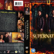 Supernatural: Season 12 (2017) R2 Custom DVD Cover