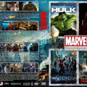 The Marvel Cinematic Universe Collection – Volume 2 (2008-2013) R1 Custom DVD Cover