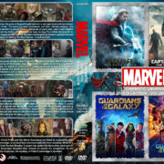 The Marvel Cinematic Universe Collection – Volume 3 (2013-2017) R1 Custom Cover