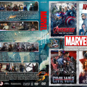 The Marvel Cinematic Universe Collection - Volume 4 (2015-2016) R1 Custom Cover