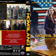 Homeland – Season 6 (2017) R1 Custom Cover & Labels