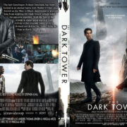 The Dark Tower (2017) R0 Custom DVD Covers