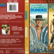 Crocodile Dundee & Crocodile Dundee II (2013) R1 DVD Cover