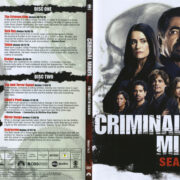 Criminal Minds: Season 12 (2017) R1 DVD Covers & Labels