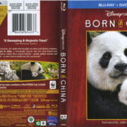 Disneynature: Born In China (2017) R1 Blu-Ray Cover & Labels