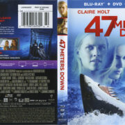 47 Meters Down (2016) R1 Blu-Ray Cover & Labels