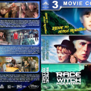 Escape to / Return From / Race to Witch Mountain Triple Feature (1975-2009) R1 Custom Blu-Ray Cover