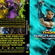Thor 3: Ragnarok (2017) R0 Custom DVD Covers