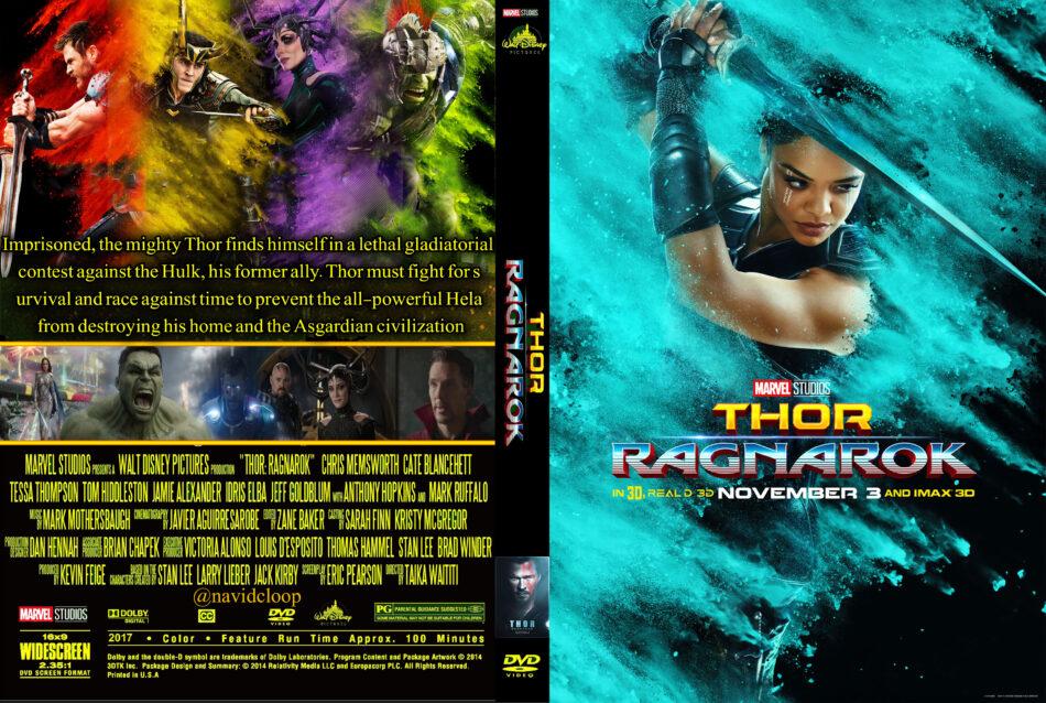 Thor 3 Ragnarok 2017 R0 Custom Dvd Covers Dvdcover Com