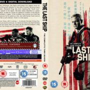 The Last Ship: Season 3 (2017) R2 Custom DVD Cover