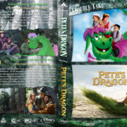 Pete's Dragon Double Feature (1977-2016) R1 Custom Blu-Ray Cover