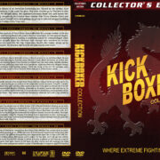 Kickboxer Collection (1989-2017) R1 Custom DVD Cover
