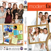Modern Family – Season 8 (2016) R1 Custom Cover & Labels