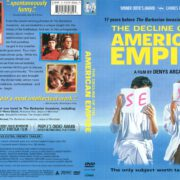 The Decline of the American Empire (1986) R1 DVD Cover