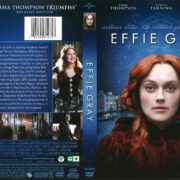 Effie Gray (2016) R1 DVD Cover