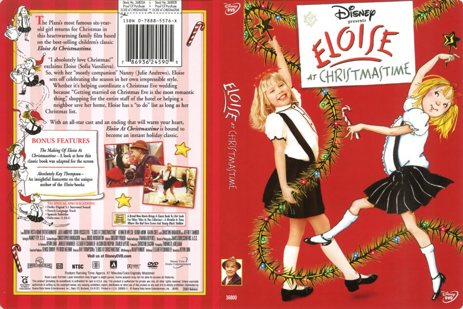 Eloise At Christmastime.Eloise At Christmastime 2004 R1 Dvd Cover Dvdcover Com