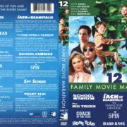 12 Family Movie Marathon (2012) R1 DVD Cover