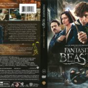 Fantastic Beasts and Where to Find Them (2017) R1 DVD Cover