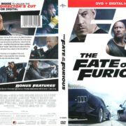 The Fate of the Furious (2016) R1 DVD Cover