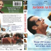 As Good As It Gets (1998) R1 DVD Cover