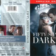 Fifty Shades Darker (2016) R1 DVD Cover
