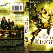 The Forbidden Kingdom (2008) R1 DVD Cover