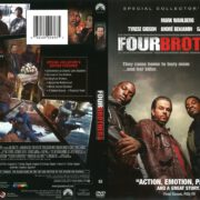 Four Brothers (2005) R1 DVD Cover