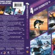 Free Willy 4-Movie Collection (1993-2010) R1 DVD Cover