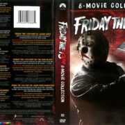 Friday the 13th 8-Movie Collection (1980-1989) R1 DVD Cover